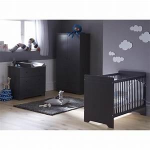 Chambre bébé complète anthracite* (ZELIGRIK01)