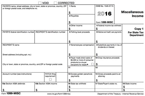 1099 misc tax basics