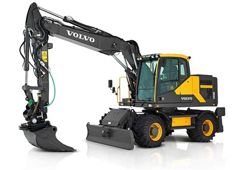 volvo ewe wheeled excavator product specs cjd equipment