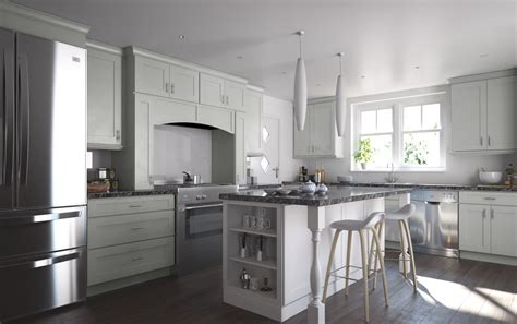 solid wood cabinetry society shaker dove gray kitchen cabinets willow
