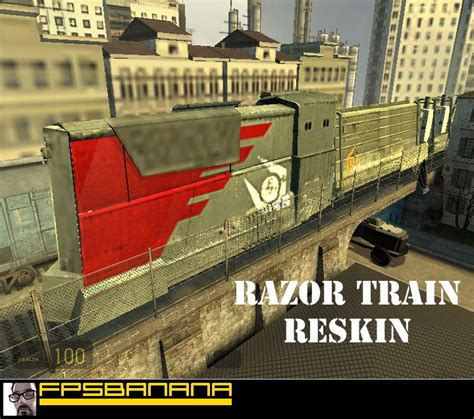 razor train repainted  life  episode  skins