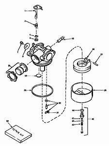 Carburetor 632589  71  143  Diagram  U0026 Parts List For Model 536797540 Craftsman