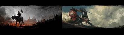 Kingdom Come Deliverance Dual Monitor Screens Wallpapers