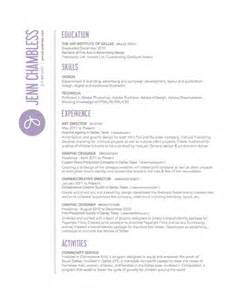 sided resumes ok 30 great exles of creative cv resume design web