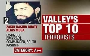 India Today accesses list of Kashmir's 10 most wanted ...