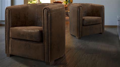 canapé microfibre pas cher fauteuil cabriolet microfibre aspect cuir vieilli