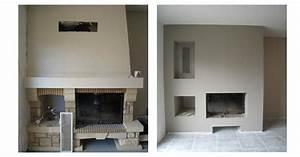 Relooker Une Cheminée Rustique : relooker une cheminee classique jd58 montrealeast ~ Nature-et-papiers.com Idées de Décoration