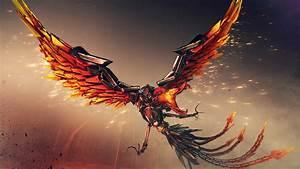 Wallpaper Mecha Phoenix CrossFire 4K Games 279