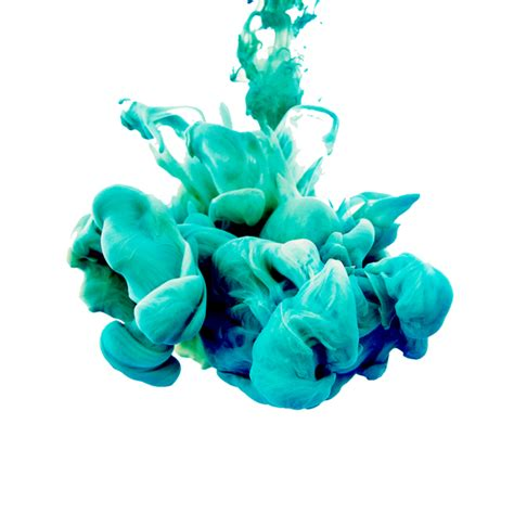 foto de حبر أزرق أخضر سحابة دخان الحبر، سحابة، ملونة، أزرق، أخضر