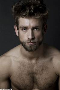 Handsome Bearded Young Man Characters Pinterest