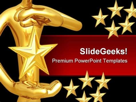 powerpoint award template of the month template invitation template