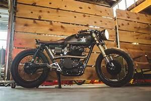 Raffling Tickets Wart Hog Honda Cb450 Cafe Racer Bikebound