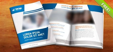 Free Business Brochure 8 Pages A4 Free Psd Free Psd Booklet Template 8 Pages Free Psd Files