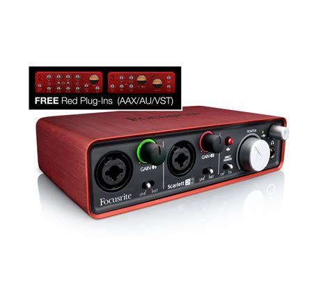 focusrite 2i2 usb audio interface zzounds