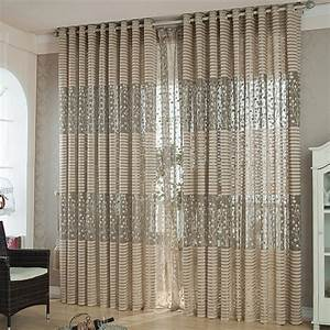 High quality strip modern luxury window curtains for for Modern kitchen curtains 2018