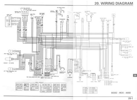 Honda Shadow Vt1100 Wiring And Electrical System Diagram by Honda Shadow Vt1100 Wiring Diagram Honda Wiring Diagram