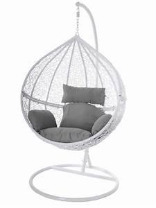 Polyrattan Stuhl Weiß : swing chair h ngestuhl h ngesessel wei polyrattan tropfen ~ A.2002-acura-tl-radio.info Haus und Dekorationen