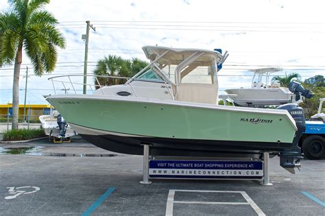 Sailfish Boats Gelcoat by Used 2005 Sailfish 218 Walkaround Boat For Sale In West