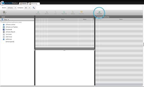 dossier template setting up dossier templates in content station 9 home