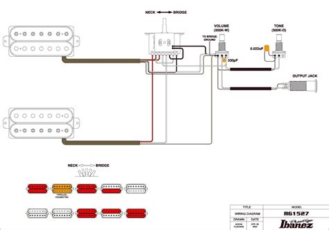 Ibanez Wiring Diagrams Diagram