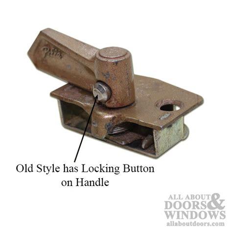 pella door parts unavailable pella hung window lock style