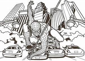 Coloriage Spiderman Spiderman Imprimer Gratuit