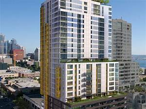 Wood partners under construction on high rise apartment for Highrise apartments seattle