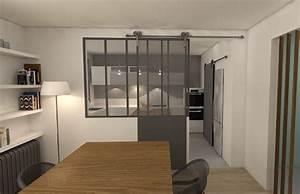 renovation maison nantaise amenagement salon soa travaux With porte d entrée pvc avec petits espaces salle de bain