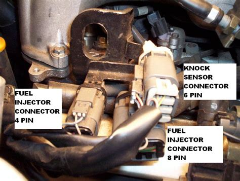 95 Pathfinder Knock Sensor Location by Unable To Ohm Injectors Nissan Forum Nissan Forums