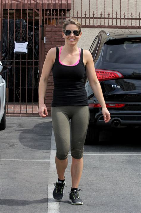 candace cameron bure leaves dwts practice picture star