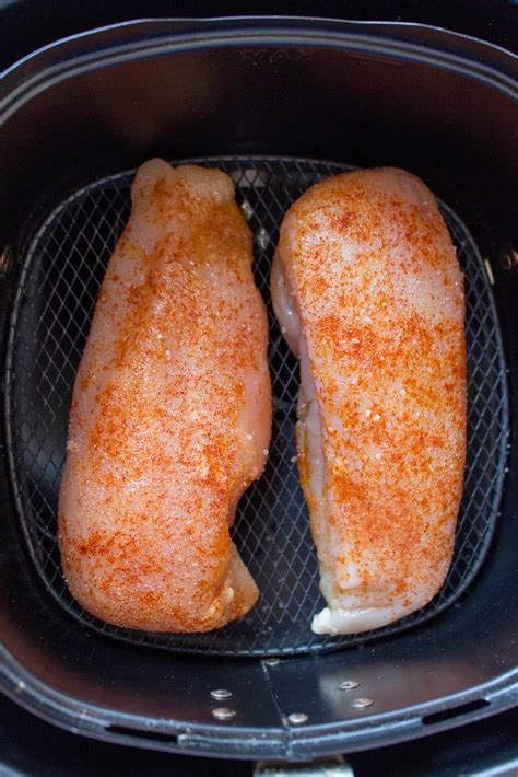 fryer chicken air breasts breast cook basic