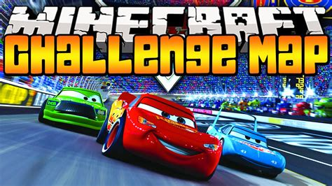 Minecraft Cars! Radiator Springs Map Pvp Challenge W