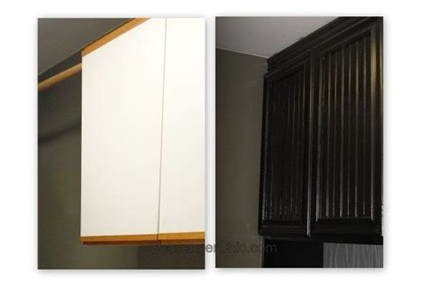 oak  laminate cabinet refacing cabinet door makeover