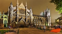 Westminster Abbey Church in London England Tourist Place ...