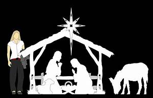 DIY Nativity Scene Silhouette Pattern Plans Free