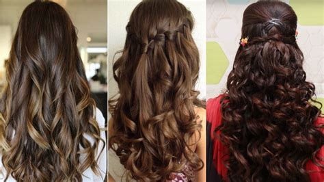 easy hairstyles  curly hair cute hairstyles  curly