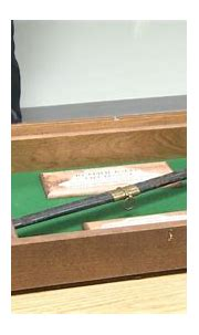 Portage Co. Sheriff gifted Civil War sword - WAOW