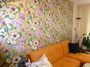 Tapete Blumen Modern : heimwerker renovieren tapeten selber tapezieren ~ Eleganceandgraceweddings.com Haus und Dekorationen