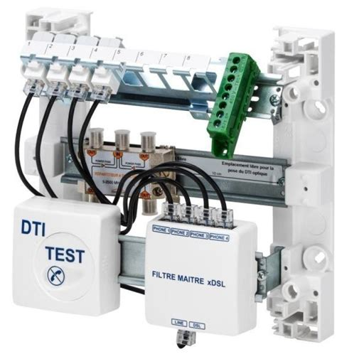 Coffret De Communication Installer Un Coffret De Communication Rj45 Grade 3 En Image