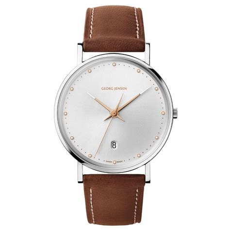 georg uhr georg koppel uhr 418 slim uhren watches leather gifts und accessories