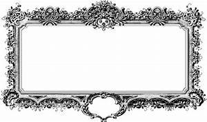 Cadre Noir Et Blanc : baroque antique cadre noir et image gratuite sur pixabay ~ Teatrodelosmanantiales.com Idées de Décoration