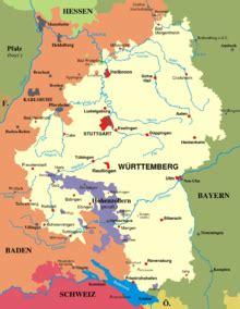 grenze baden württemberg w 252 rttemberg