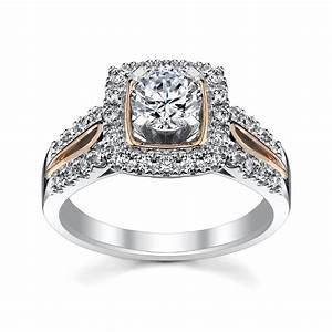5 rose gold engagement rings she39ll love robbins With robbins brothers wedding rings