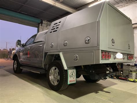 ford ranger service body mw toolbox