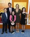 Andrew Shue, sa femme Amy Robach et ses filles Ava ...