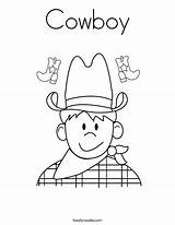 Farmer Coloring Cowboy Pages Texas Colouring Twistynoodle God Worksheets Printable Boy Outline Twisty Sheets Farm Tracing Preschool Western Noodle Embroidery sketch template