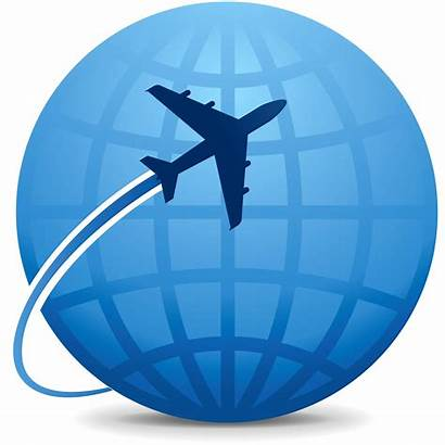 Travel Icon Abroad Clipart International Trip Avoid