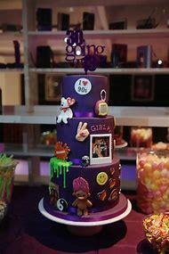 90s Theme Birthday Cake