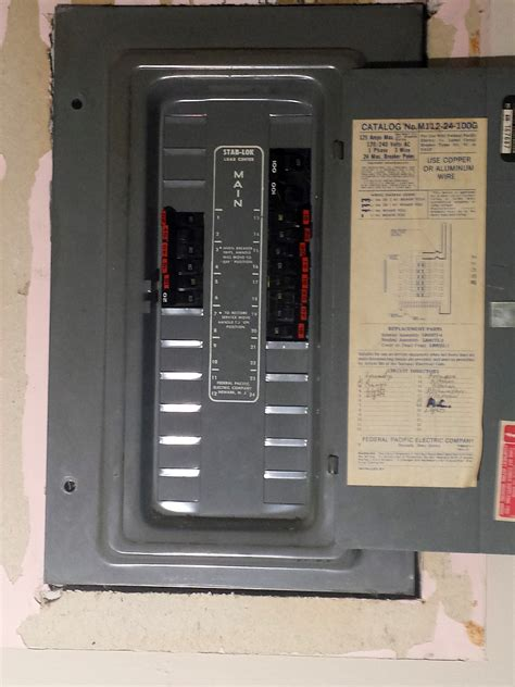 Federal Pacific Fuse Box by Replace Fuse Box Replace Fpe Breakers Total Electric