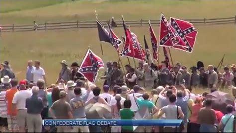 pa lawmaker ban confederate flag  gettysburg battle